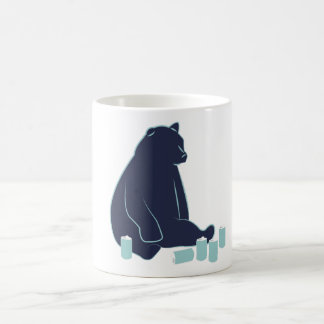 Drunk Bear Basic White Mug