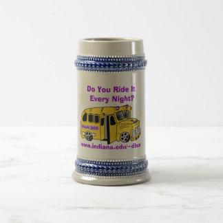 Drunk Bus Beer Stein