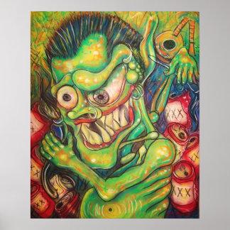 drunk demon poster