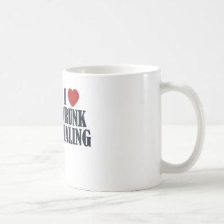 Drunk Dialing Coffee Mug