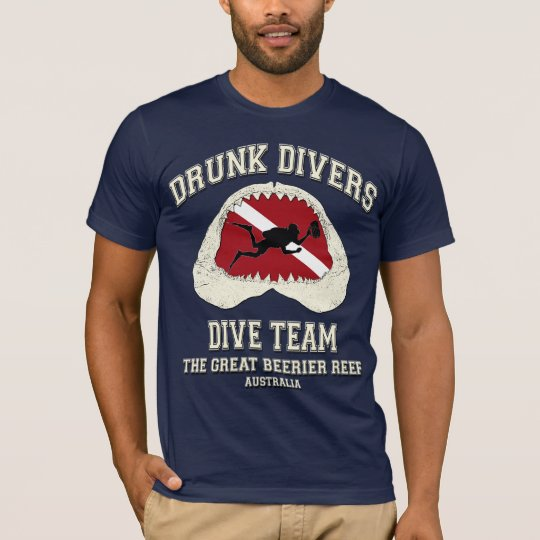 DRUNK DIVERS DIVE TEAM T-Shirt