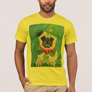 Drunk Dog~ Original Art from NJPunks T-Shirt