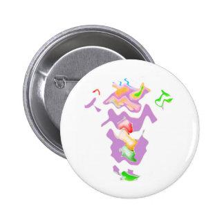 Drunk Granny Wave Dance 6 Cm Round Badge