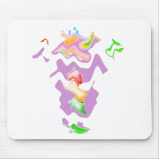 Drunk Granny Wave Dance Mouse Pad