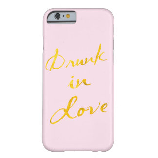 Drunk in Love iPhone 6 Case - pink & gold