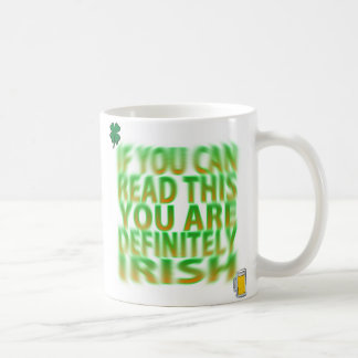 Drunk Irish Mug