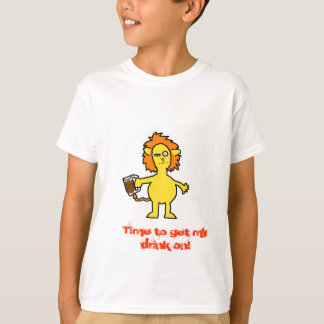 Drunk Lion T-Shirt
