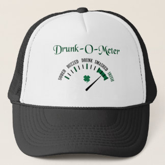 Drunk-O-Meter Trucker Hat