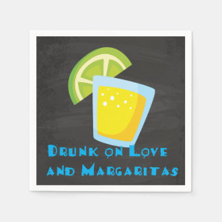 Drunk on Love Fiesta Cocktail Napkins Paper Napkin