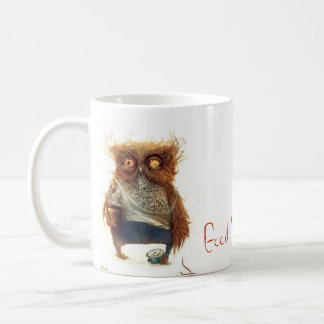 DRUNK OWL BASIC WHITE MUG
