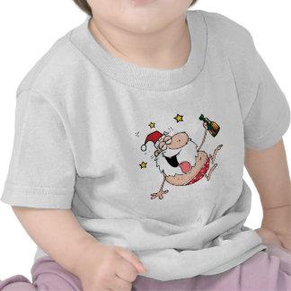 Drunk Santa Claus T-shirts