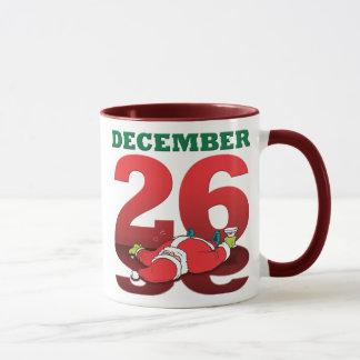 "Drunk Santa ""December 26"" Mug"