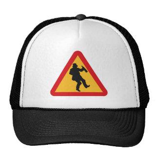 Drunk Warning hats