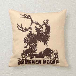 Drunken beer? cushion
