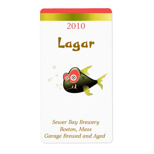 Drunken Fish Humourous Beer Labels