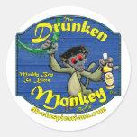 Drunken Monkey Bar Sticker