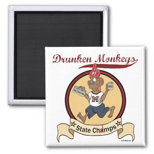 Drunken Monkeys magnet
