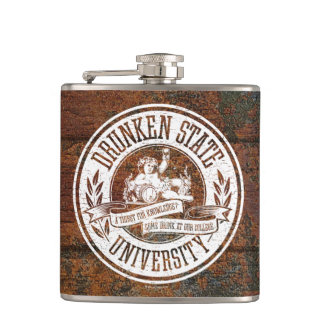 Drunken State University Flasks