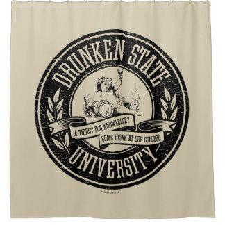 Drunken State University Shower Curtain