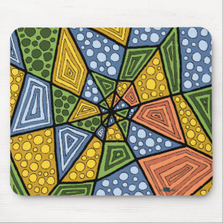 Drunkenness of color Mousepad