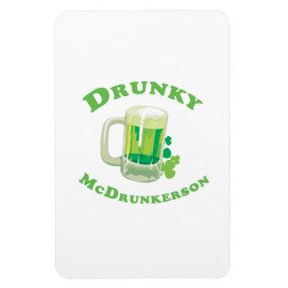 Drunky McDrunkerson Vinyl Magnets