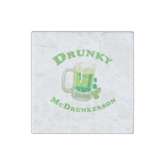 Drunky McDrunkerson Stone Magnet