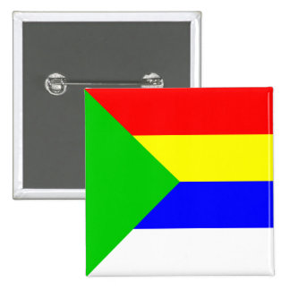 Druze, Democratic Republic of the Congo 15 Cm Square Badge