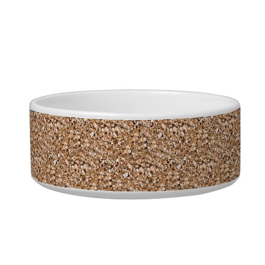 Druzy crystal - rose gold colour pet food