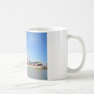 Dry Cargo Ship Basic White Mug