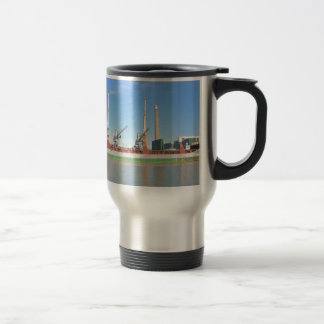 Dry Cargo Ship Stainless Steel Travel Mug