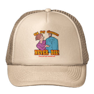 Dry Cleaners Mesh Hat