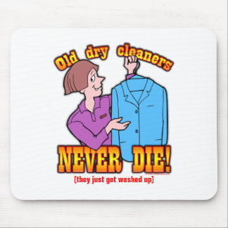 Dry Cleaners Mouse Pad