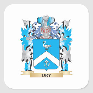 Dry Coat of Arms - Family Crest Sticker