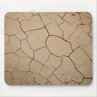 Dry Desert Ground Mouse Pad