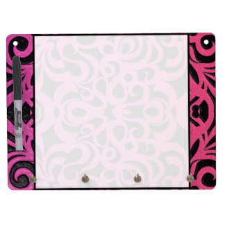 Dry Erase Board Floral abstract background