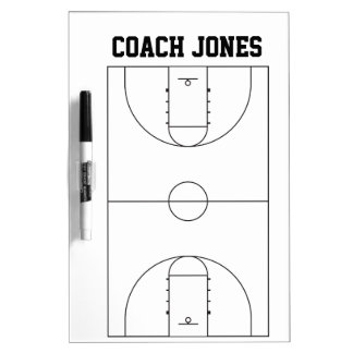Dry Erase Board for Basketball Coach