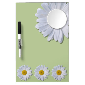 Dry-Erase Board - New Daisies on Sage