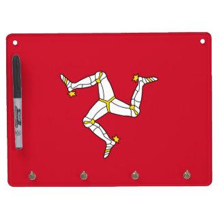 Dry Erase Board with Isle of Man Flag, UK