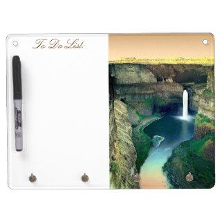Dry Erase Board with Key Hooks!