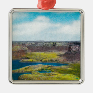 Dry Falls State Park, Grand Coulee Dam Christmas Ornament