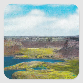 Dry Falls State Park, Grand Coulee Dam Sticker