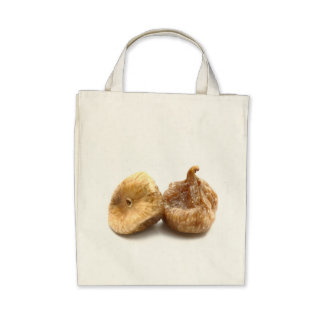 Dry figs canvas bag