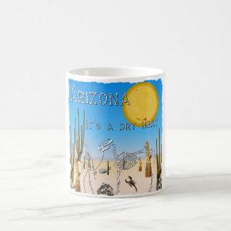 Dry Heat Arizona Basic White Mug