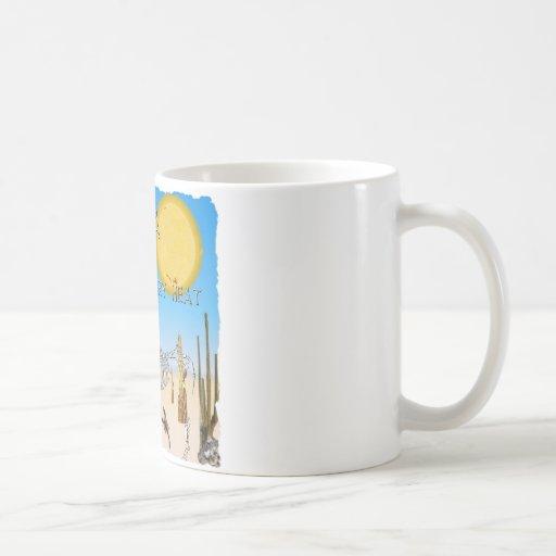 Dry Heat Arizona Coffee Mug