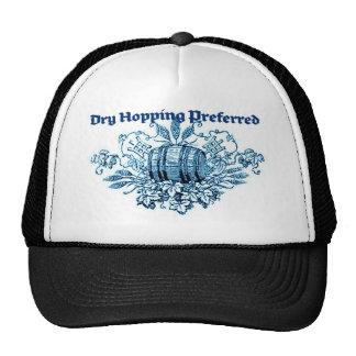 DRY HOPPING PREFERRED VINTAGE BEER KEG PRINT (BLUE CAP