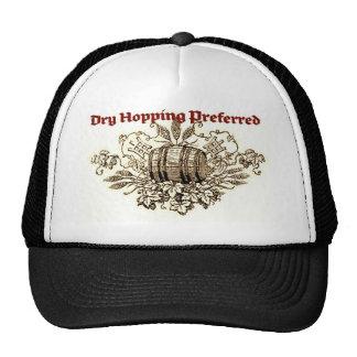 DRY HOPPING PREFERRED VINTAGE BEER KEG PRINT SEPI MESH HAT