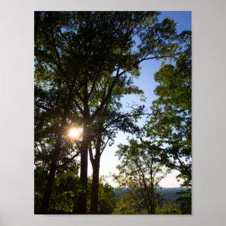 Dry Land Bridge Overlook, Kentucky Poster