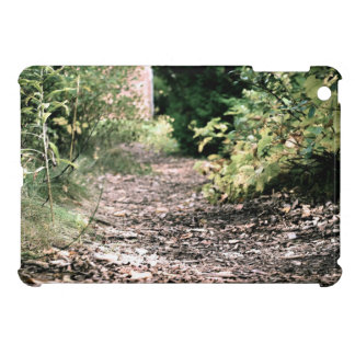 Dry pathway with Greenery at sides iPad Mini Case