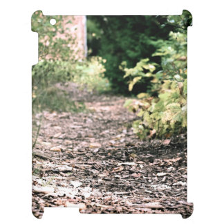 Dry pathway with Greenery at sides iPad Covers