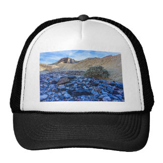 Dry Riverbed and Landscape Hats